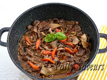 Beef and Bell Peppers Stir Fry