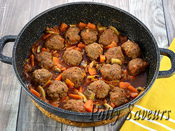 Beef Meatball Stew small