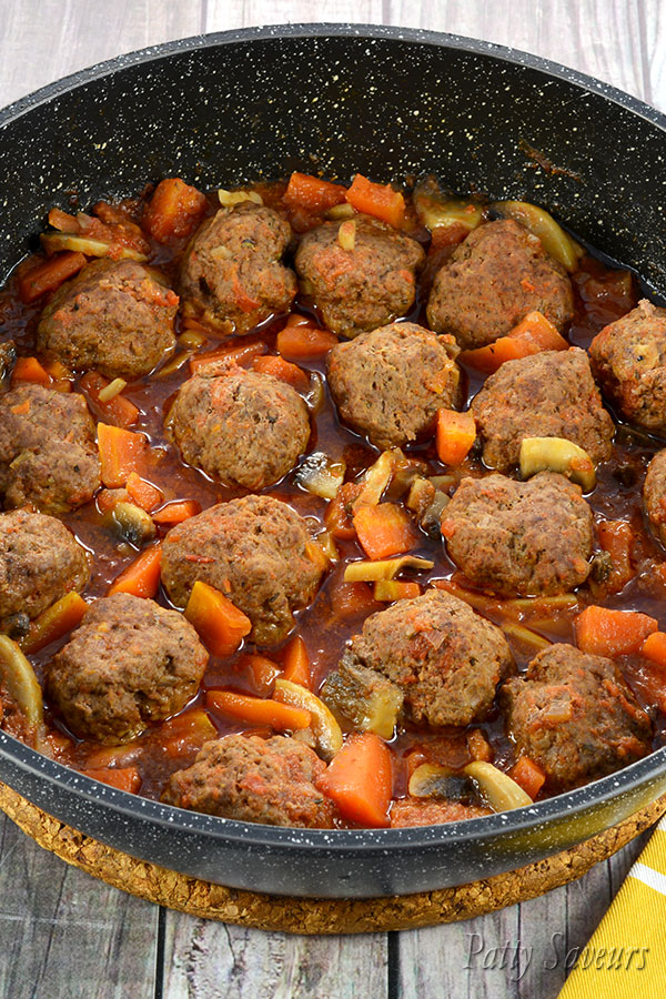 Beef Meatball Stew Pinterest