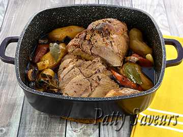 Braised Pork Shoulder Roast small