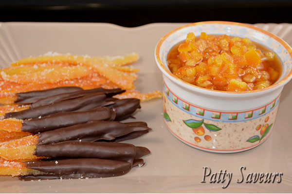 Candied Orange Peel 3 ways Pinterest