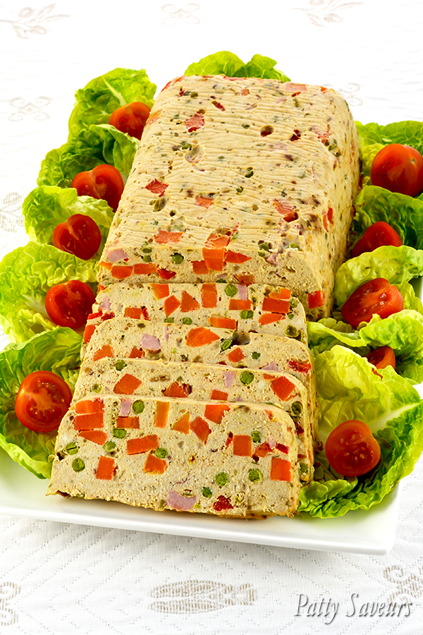 Chicken and Vegetable Terrine Pinterest