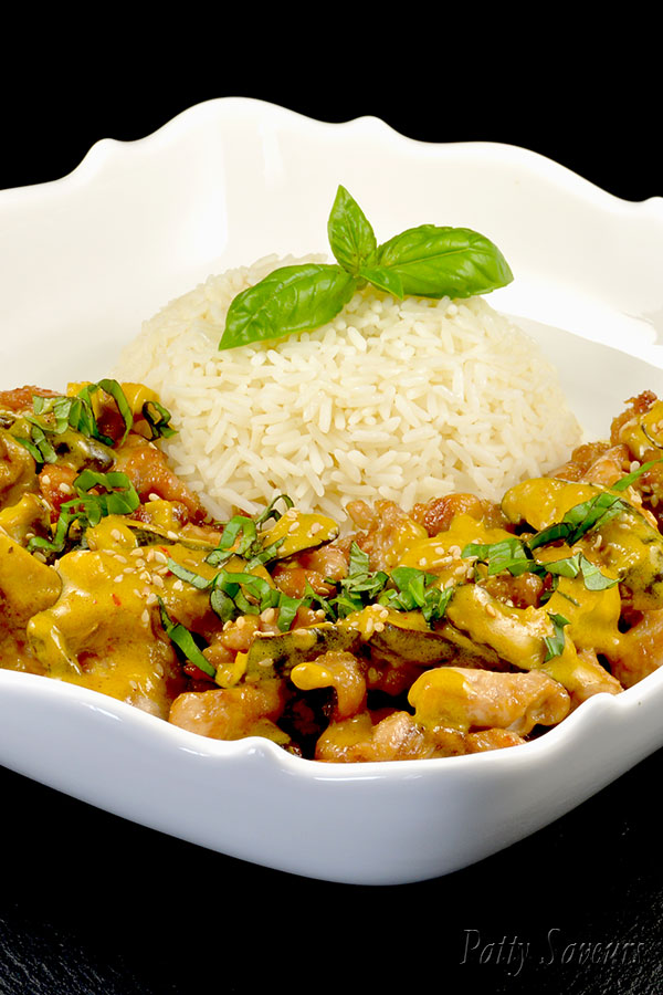 Chicken Curry Coconut Stir Fry Pinterest