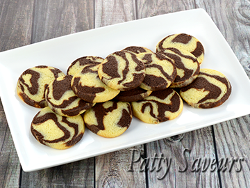 Chocolate Marble Cookies Recipe small