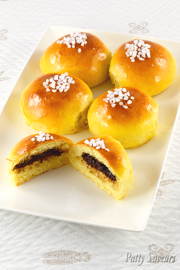 Chocolate Mini Brioches Buns