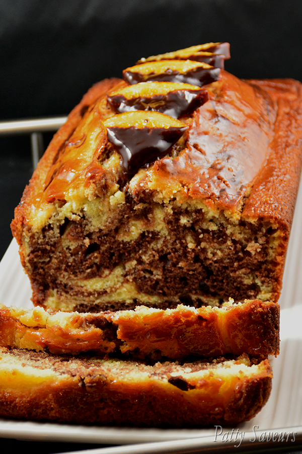 Chocolate Orange Marbled Quick Bread Pinterest
