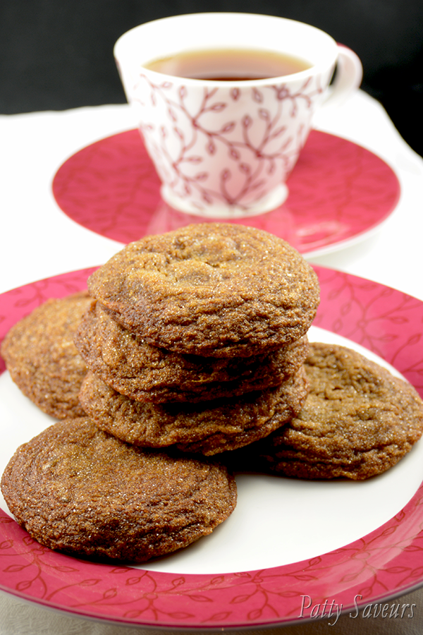 Cookies au Gingembre Pinterest