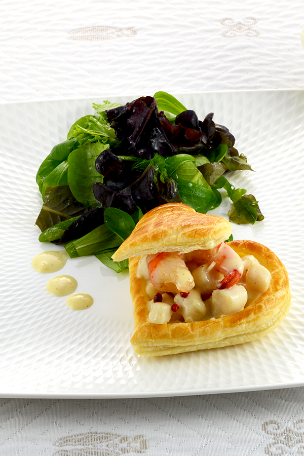 Creamy Scallops Vol au Vent Pinterest