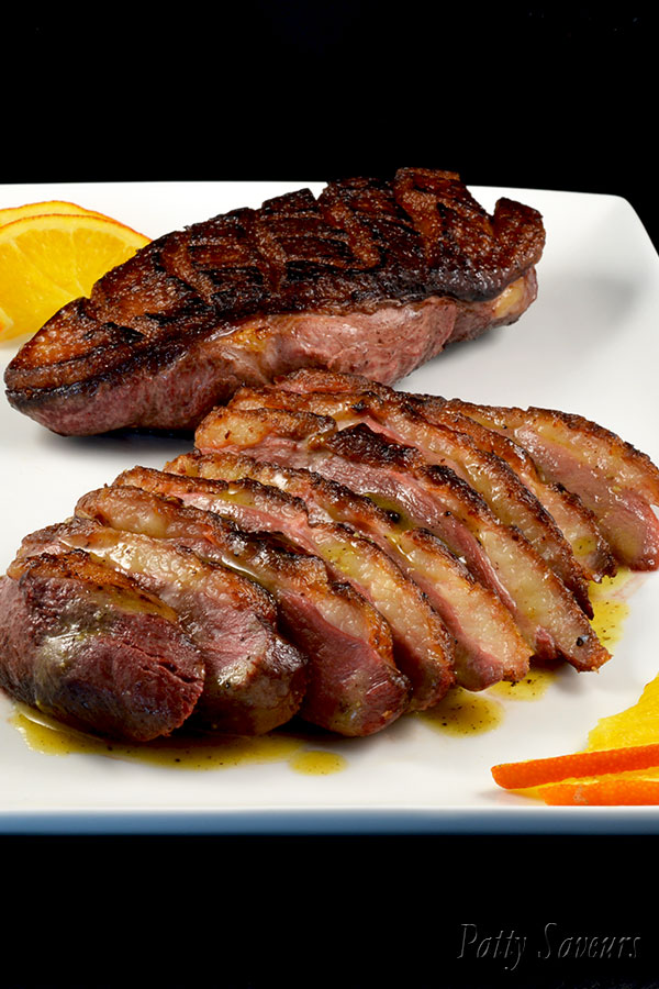 Duck Breast Whisky and Orange Sauce