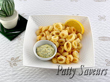 Easy Crispy Fried Calamari small