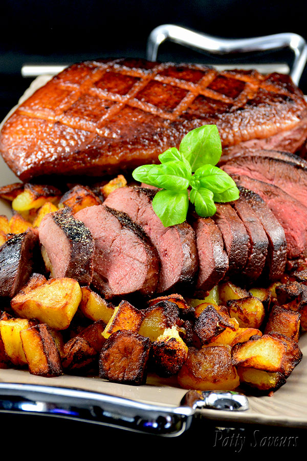 Grilled Duck Breasts and Sauteed Potatoes Pinterest