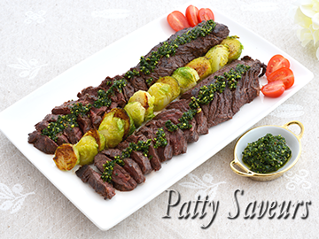 Hanger Steak Hot Parsley Pesto small