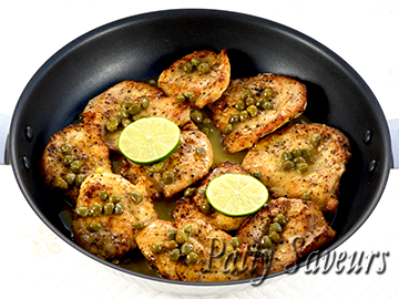Lemon Chicken Piccata small