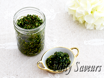 Lemony Parsley Pesto small