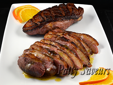 Magrets de Canard, Sauce Orange Whisky petite