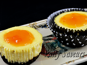 Mini Cheesecakes Oreo® Choco Citrus small