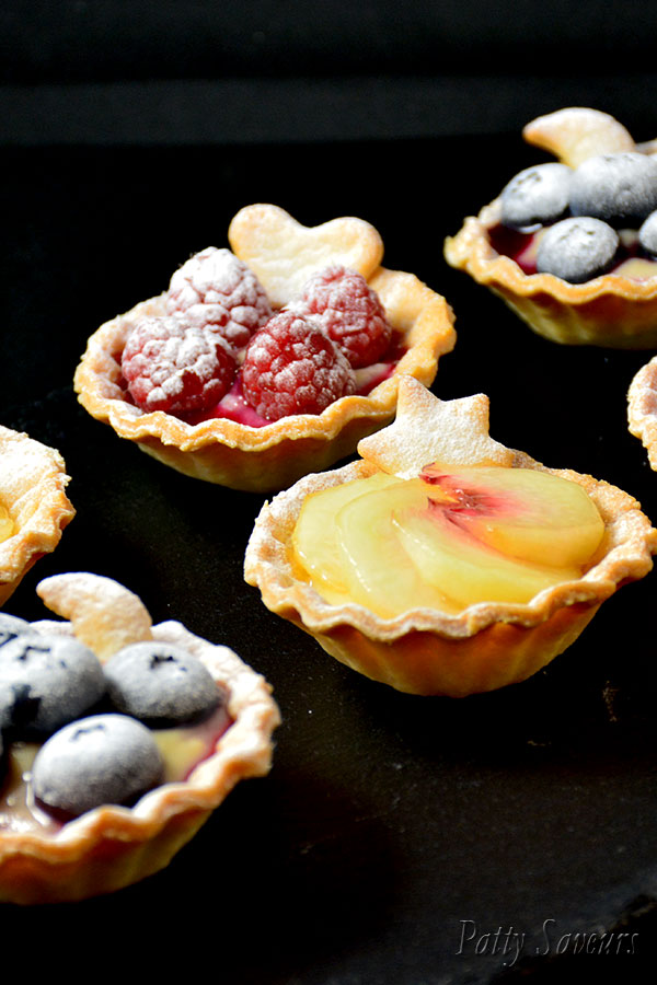 Mini Peach and Berry Tartlets