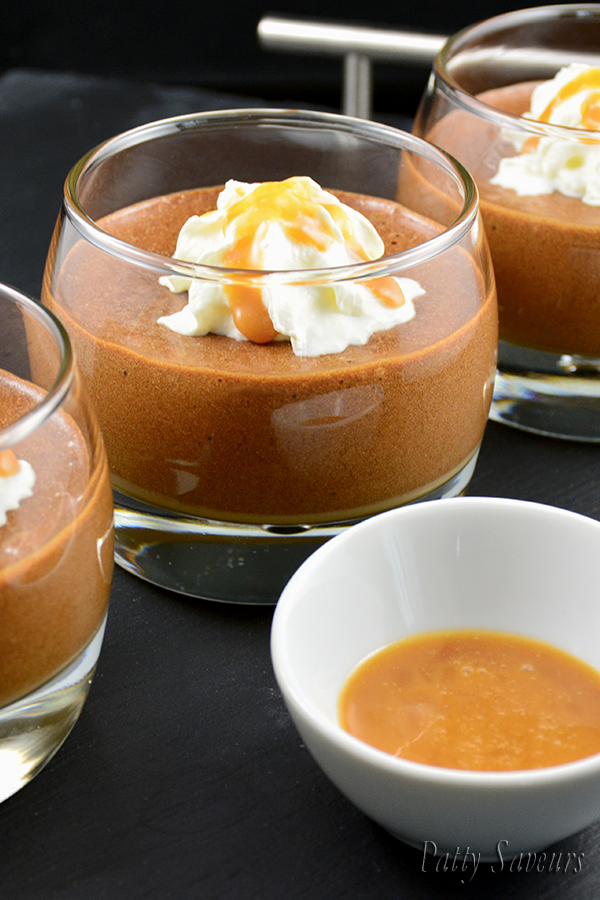 Salted Caramel Chocolate Mousse Pinterest