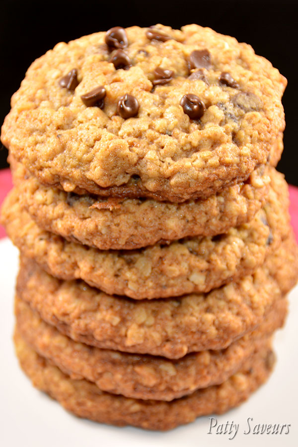Oatmeal Pear Pecans Choc Chip Cookies Pinterest