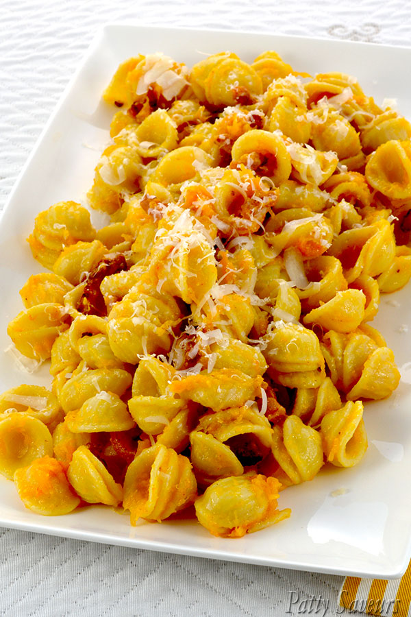 Orecchiette Pasta with Pumpkin Cream Pinterest
