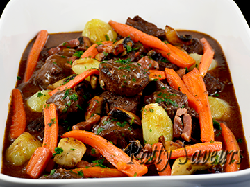 Oven Baked Beef Bourguignon small