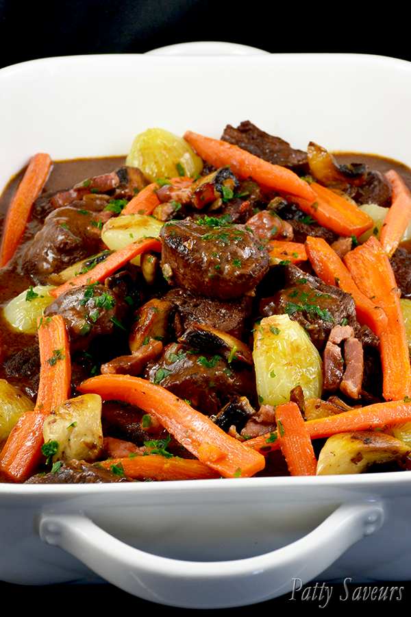 Oven Baked Beef Bourguignon Pinterest