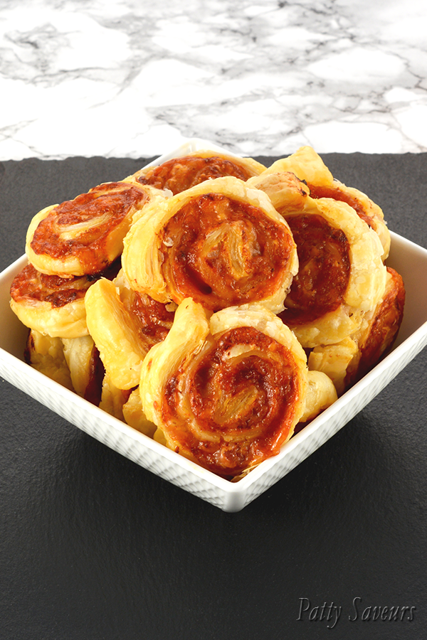 Puff Pastry Pizza Pinwheels Pinterest