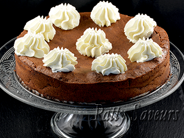 Rustic Chocolate Almond Torte small
