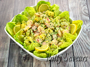 Shrimp and Potato Salad small