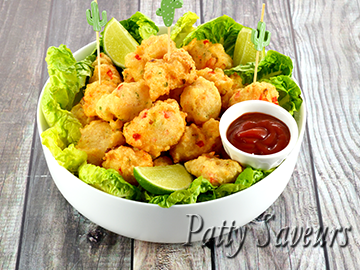 Shrimp Fritters Accra Recipe small