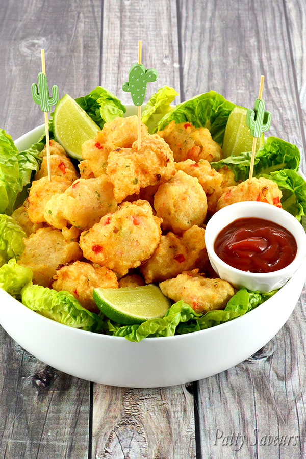 Shrimp Fritters Accra Recipe Pinterest