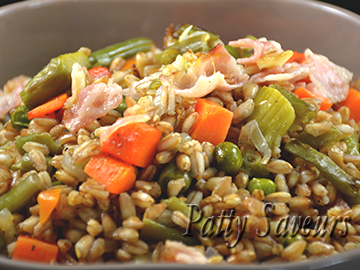 Spelt Risotto with Vegetables small
