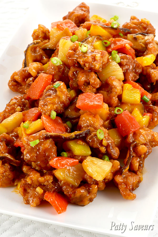 Sweet and Sour Chicken Recipe Pinterest