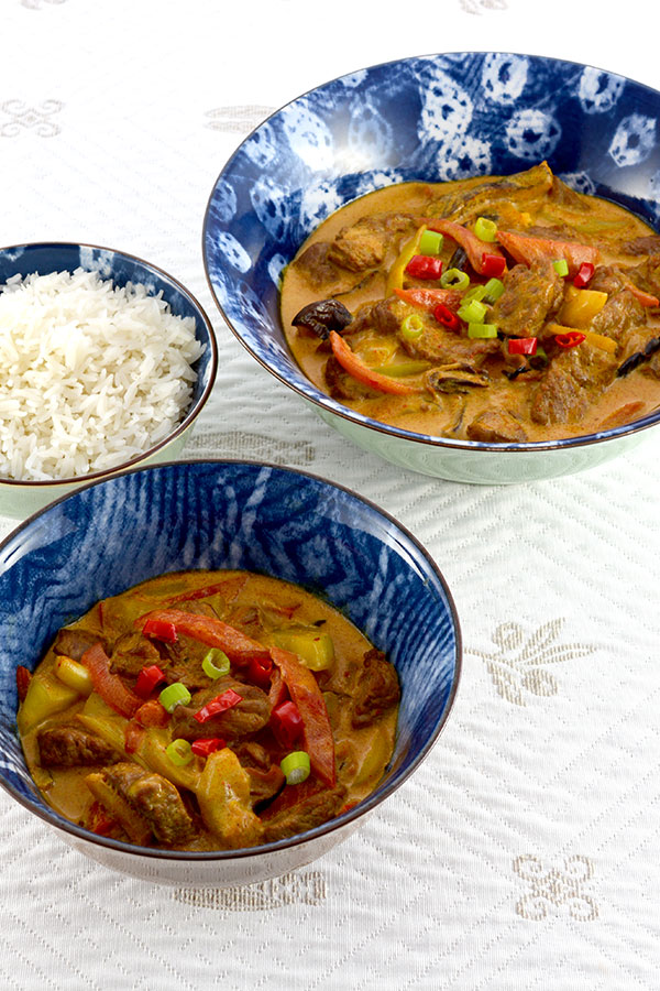 Thai Red Curry Beef Pinterest