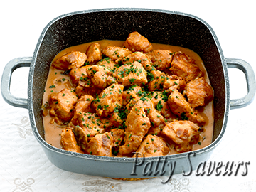 Turkey Stew Sage White Wine Sauce small