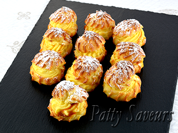 Vanilla Caramel Cream Puffs small