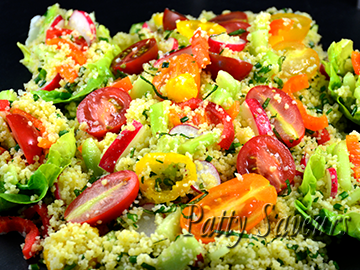 Vegetarian Tabbouleh small